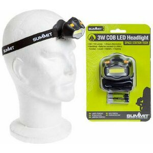 Summit otsalamppu 3W cob LED